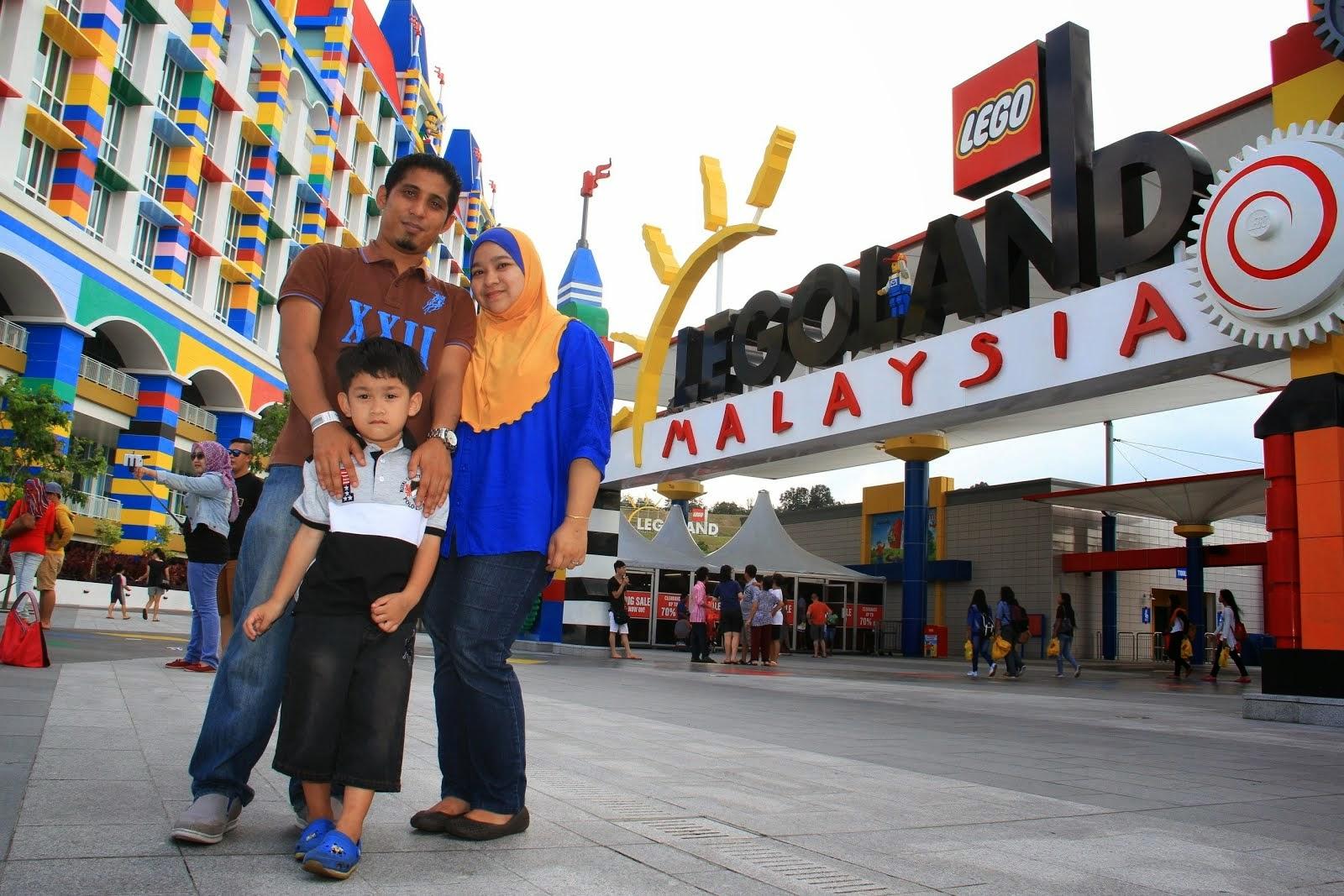 Legoland Johor - Irfan's 5th Birthday