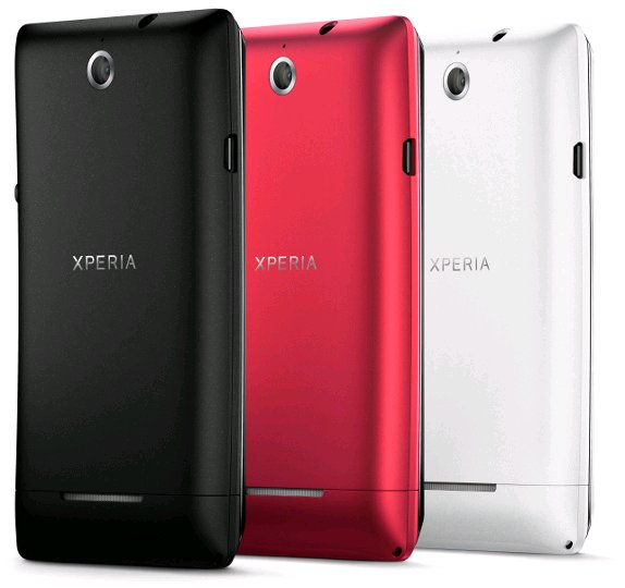 xperia e back cover