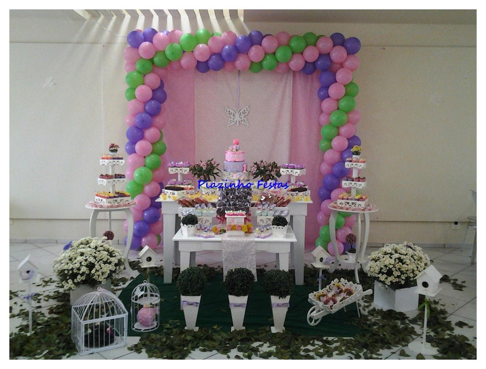 decoracao de festa infantil tema jardim:Festa Infantil por Rozangela Mazur