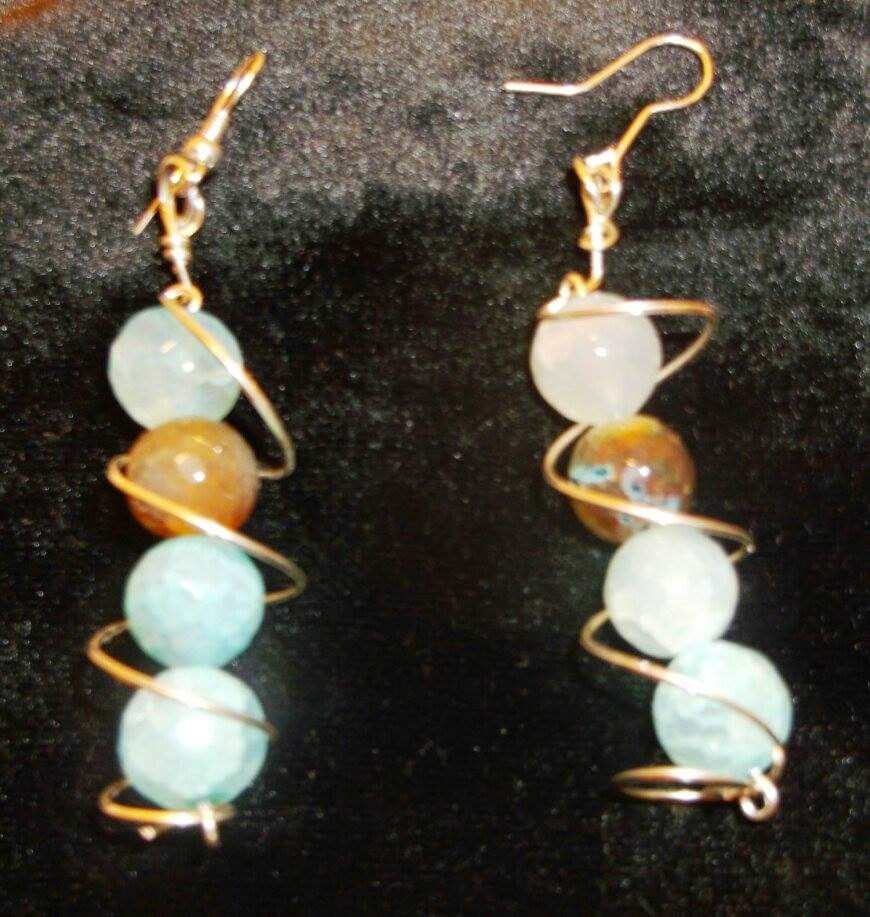 https://www.etsy.com/listing/179865209/silver-spiral-and-agate-earrings