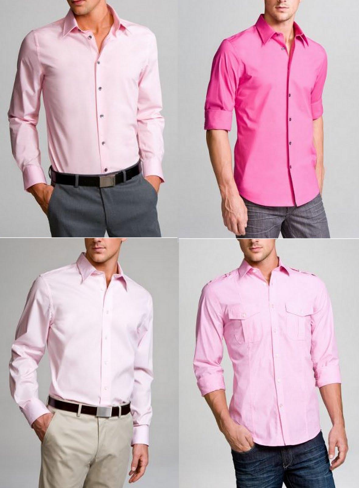 33 Рубашка и брюки мужские сочетание цветов