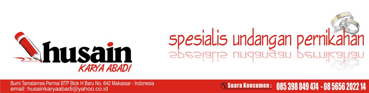 Husain Percetakan Undangan Pernikahan Makassar