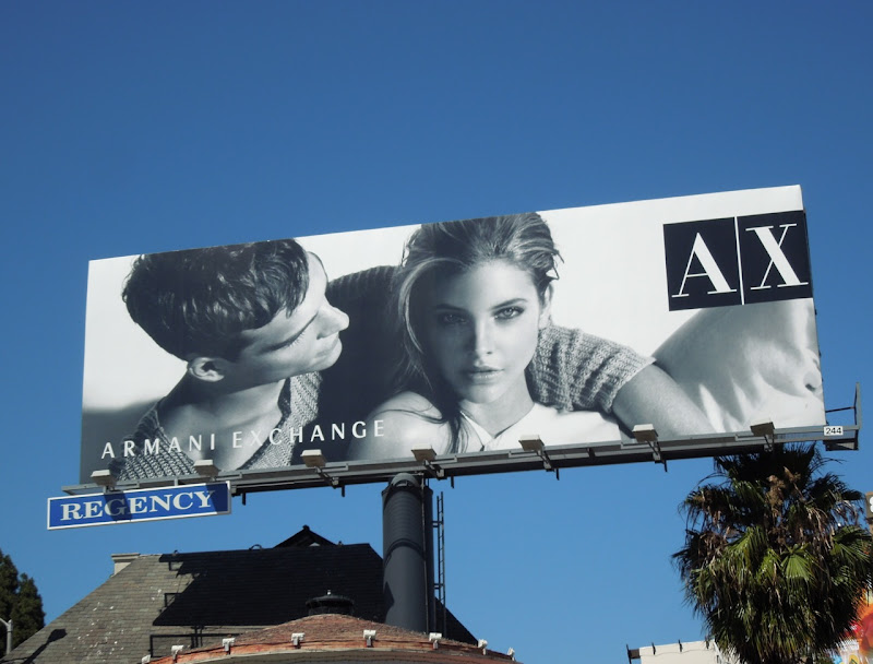 Armani Exchange Summer 2012 billboard