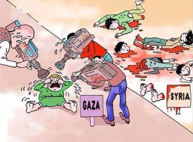 Como a mídia trata Israel