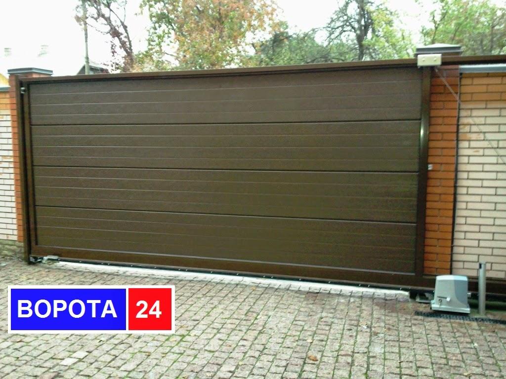 секционные гаражные ворота 0