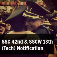 SSC 42nd and SSCW 13th (Tech) Notification