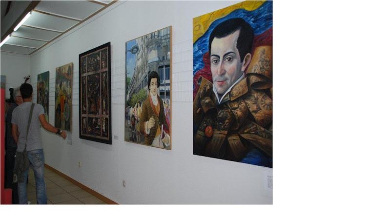 """2ª Exposición """"El sueño de Simón Bolívar"""""""