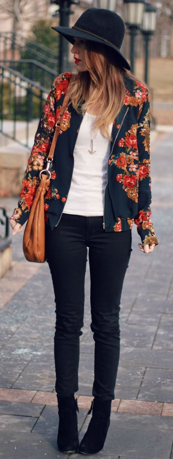 Tapestries in Bloom Silk Black Floral Print Jacket $93