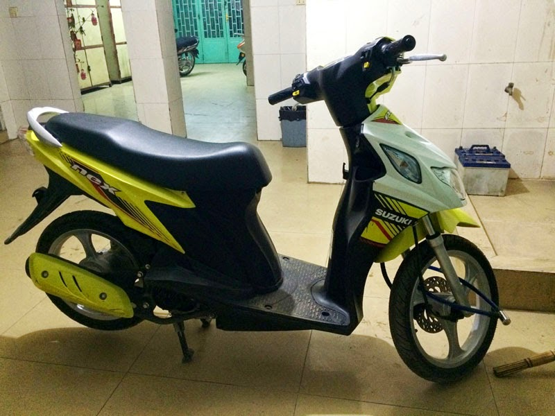 Suzuki Nex 2015 Kuning