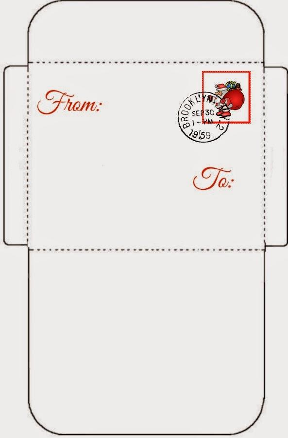 envelope to santa φακελος στον αγιο βασιλη