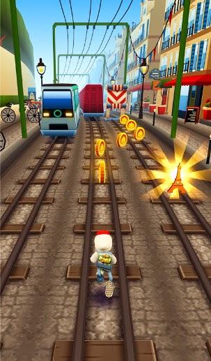 Subway surfers 1 26 0 mod apk unlimited coins keys paris update