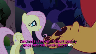 Fluttershy's section of the extended theme sing-a-long