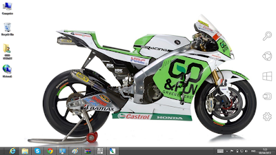 Alvaro Bautista MotoGp 2013 Theme For Windows 7 And 8