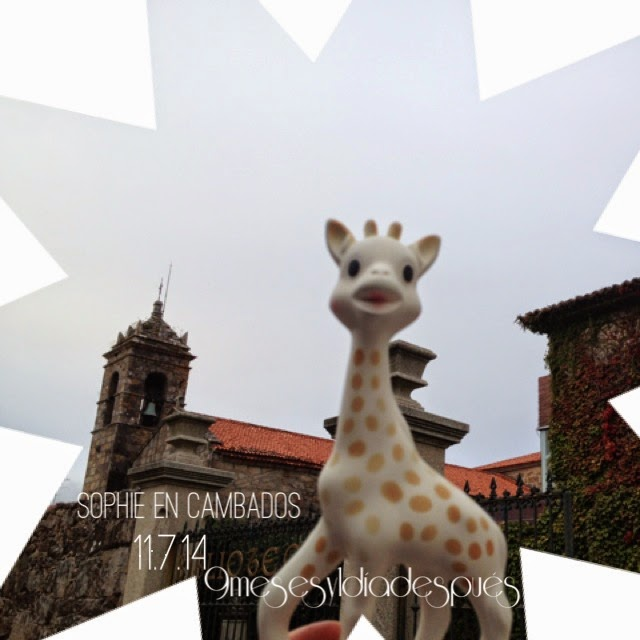 Sophie la jirafa Cambados