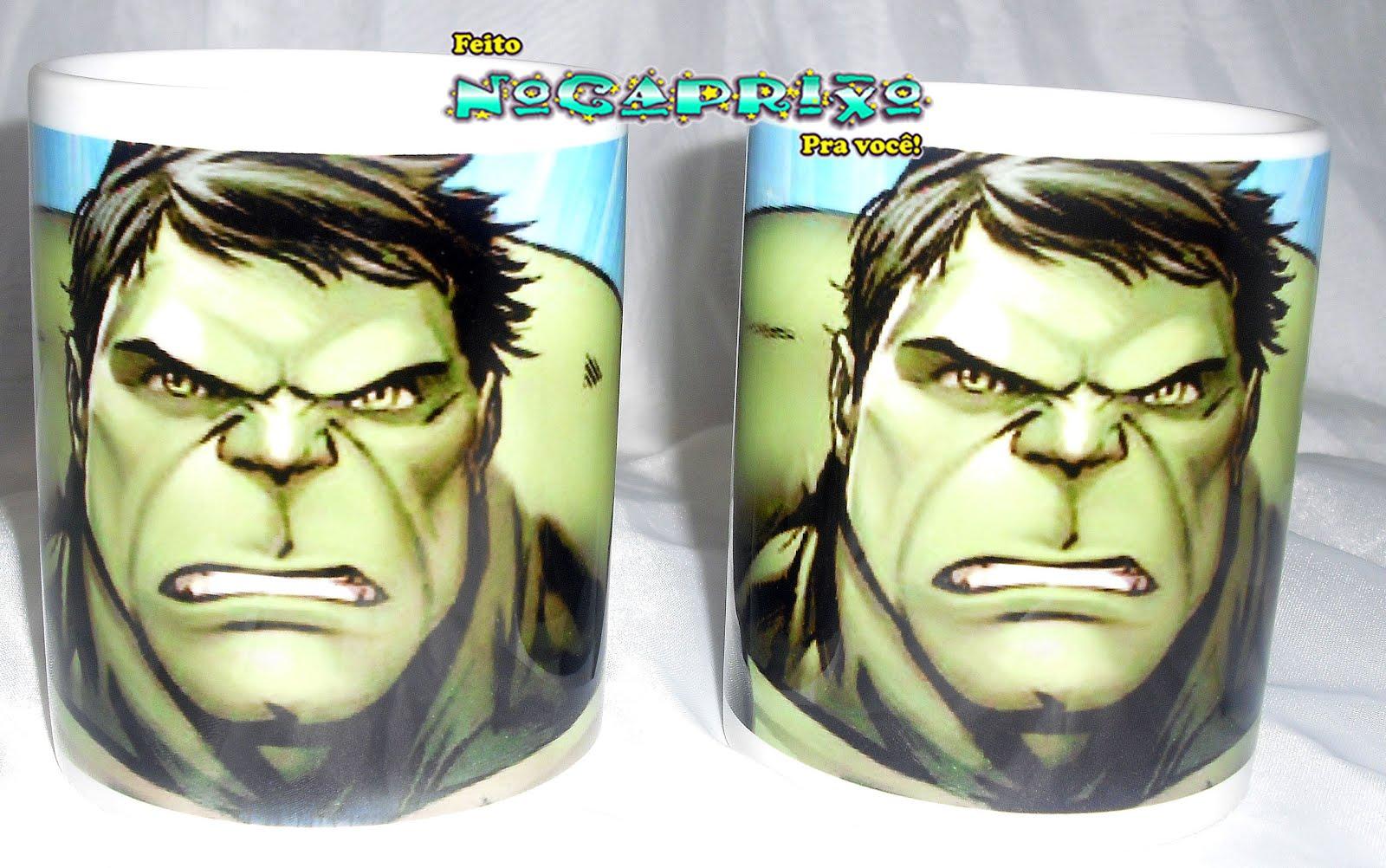 Caneca Personalizada - Hulk