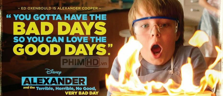 Phim Alexander Và Một Ngày Kinh Khủng, Tồi Tệ, Xui Xẻo VietSub HD | Alexander And The Terrible, Horrible, No Good, Very Bad Day 2014