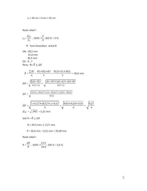 Fisika Itu Menyenangkan Contoh Laporan Hasil Praktikum Resonansi Gelombang Bunyi