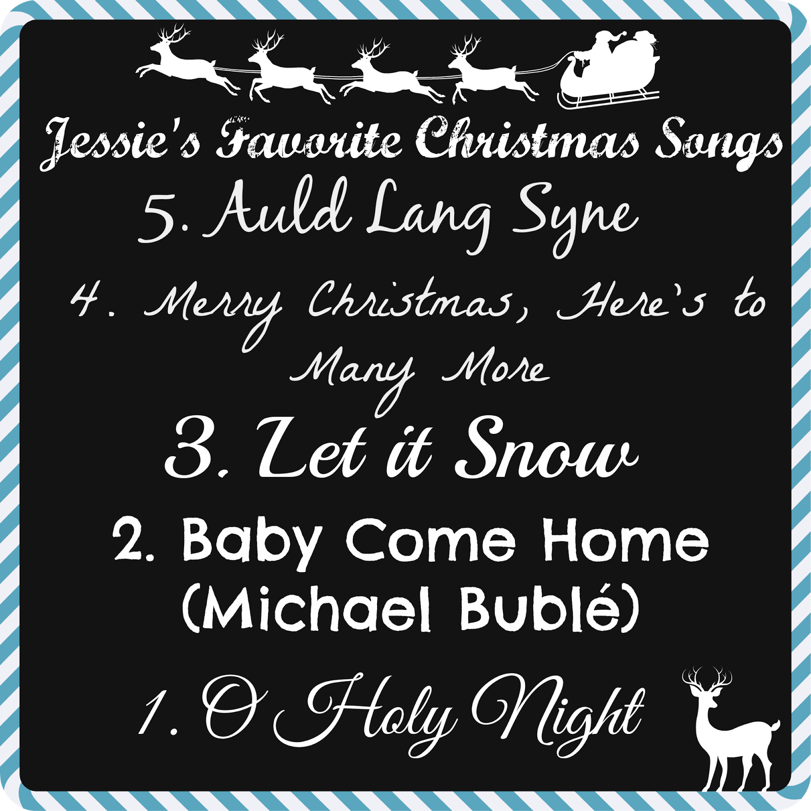 from the top auld lang syne merry christmas heres to many more - Best Christmas Songs Ever List