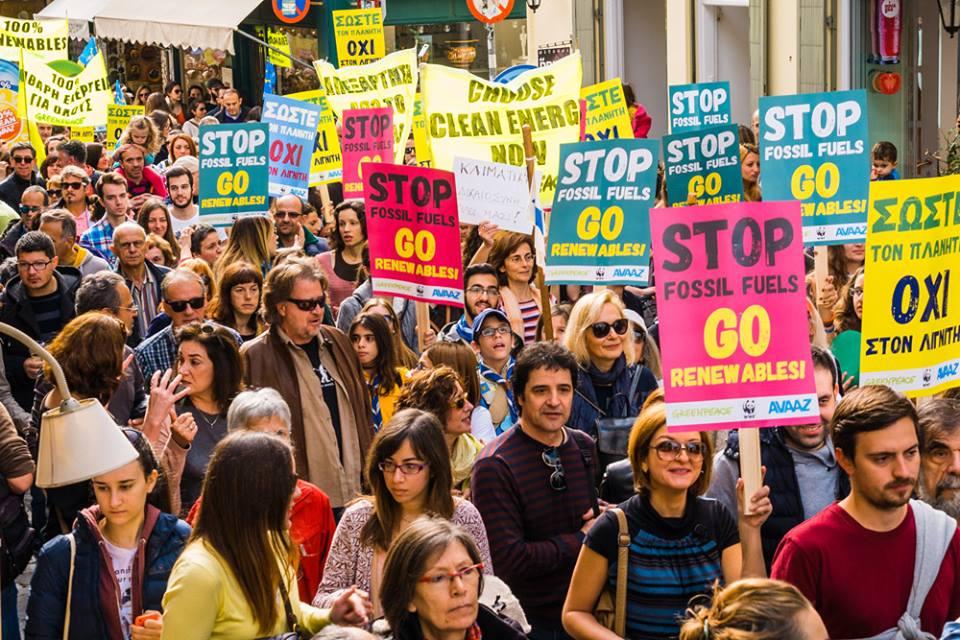 «Πράσινη» πορεία και στην Αθήνα ενόψει της Συνόδου για το Κλίμα