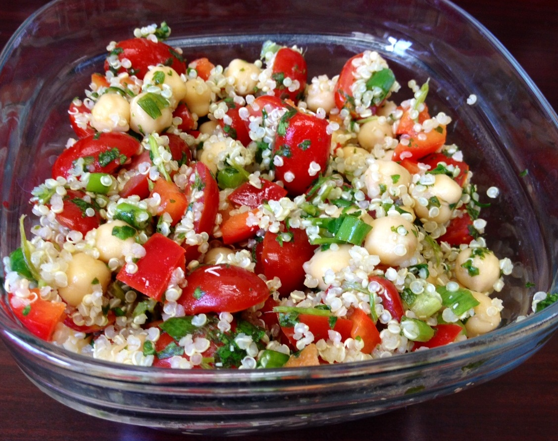 Healthy Fit Goddess: R... Quinoa Chickpea Salad Recipes