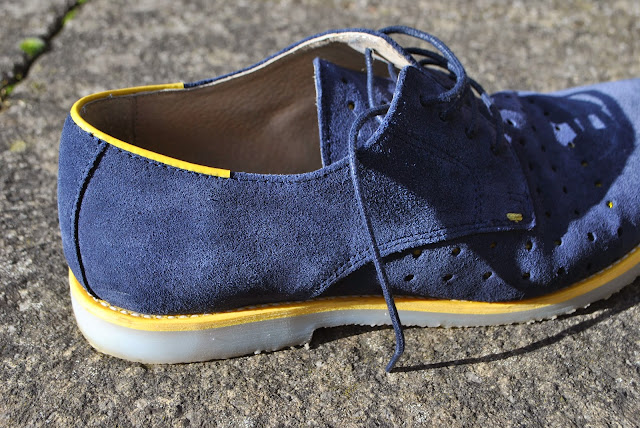 The Totality's Blue Suede Shoes