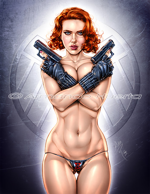 Black Widow Rule 34