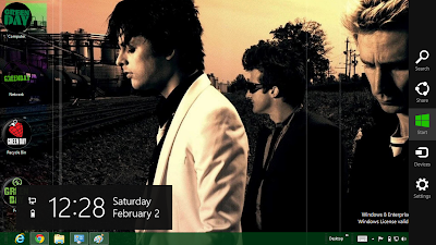 Green Day Theme For Windows 8