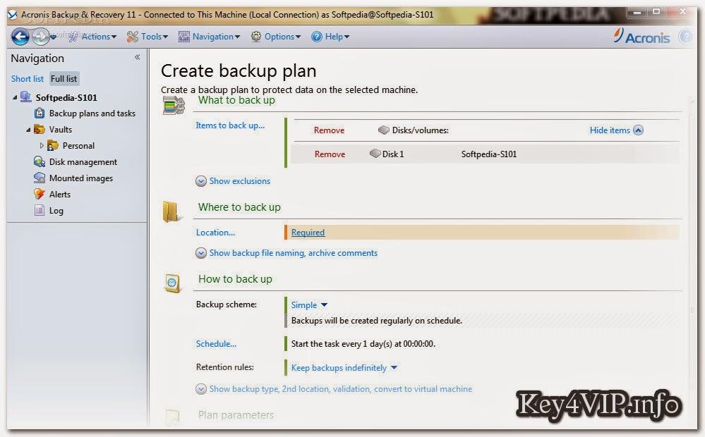 Acronis Backup Advanced v11.5.43916 Bootable ISO,Đĩa Boot sao lưu và phục hồi hệ thống Windows Server