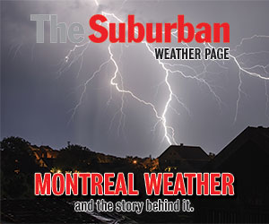 The Suburban Weather Page