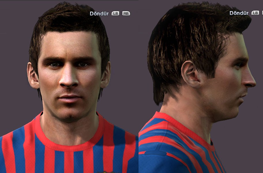 Messi Face by ilhan