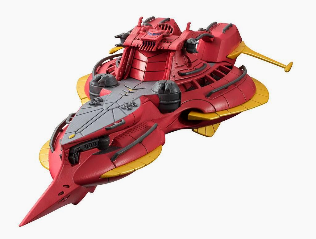 cosmo fleet gundam reconguista megafauna