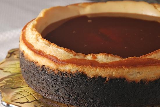 Irish Cream Caramel Cheesecake