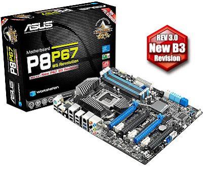 Asus P867 WS Revolution for Intel Socket 1155