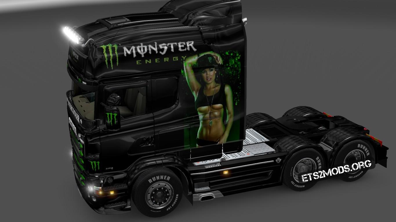 Scania Rjl Monster Energy Ets2 Mods