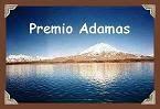 Premio Adamas concedido por Natalia