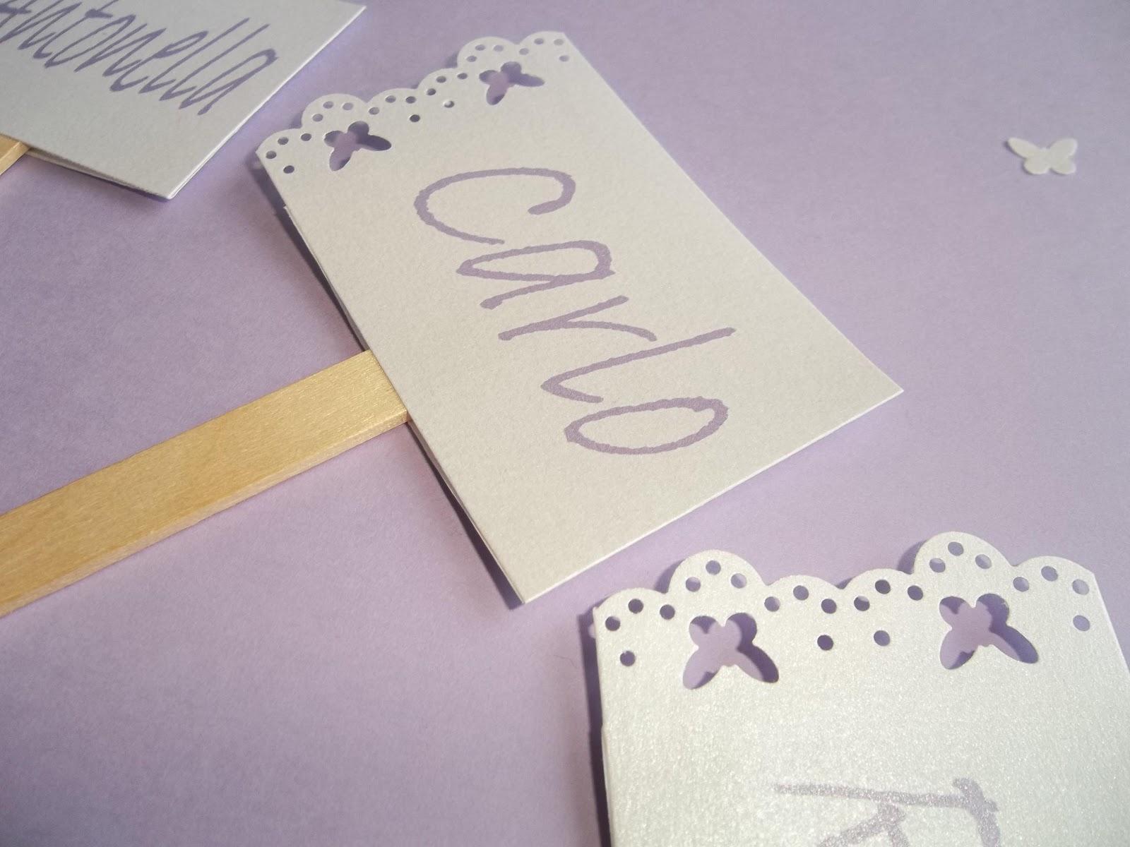 Segnaposto Matrimonio In Legno : Sara crea segnaposto matrimonio con palettina in legno