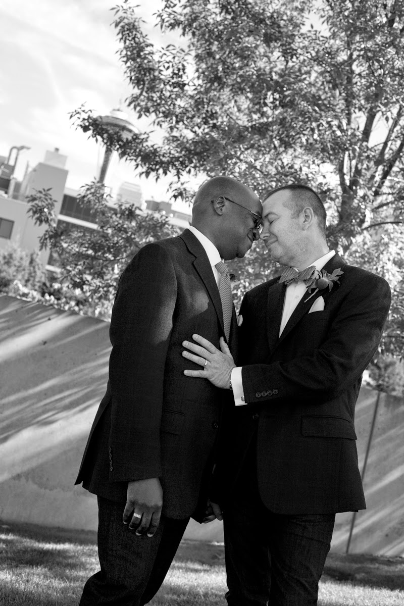 Barry and Robert wed at the Olympic Sculpture Park - Patricia Stimac, Seattle Wedding Ceremony