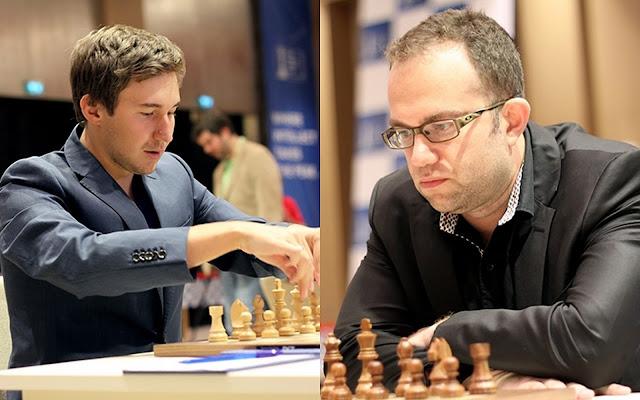 Copa del Mundo de Ajedrez. Sergey Karjakin - Pavel Eljanov