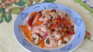 салат  из цветной капусты маринованный по-корейски