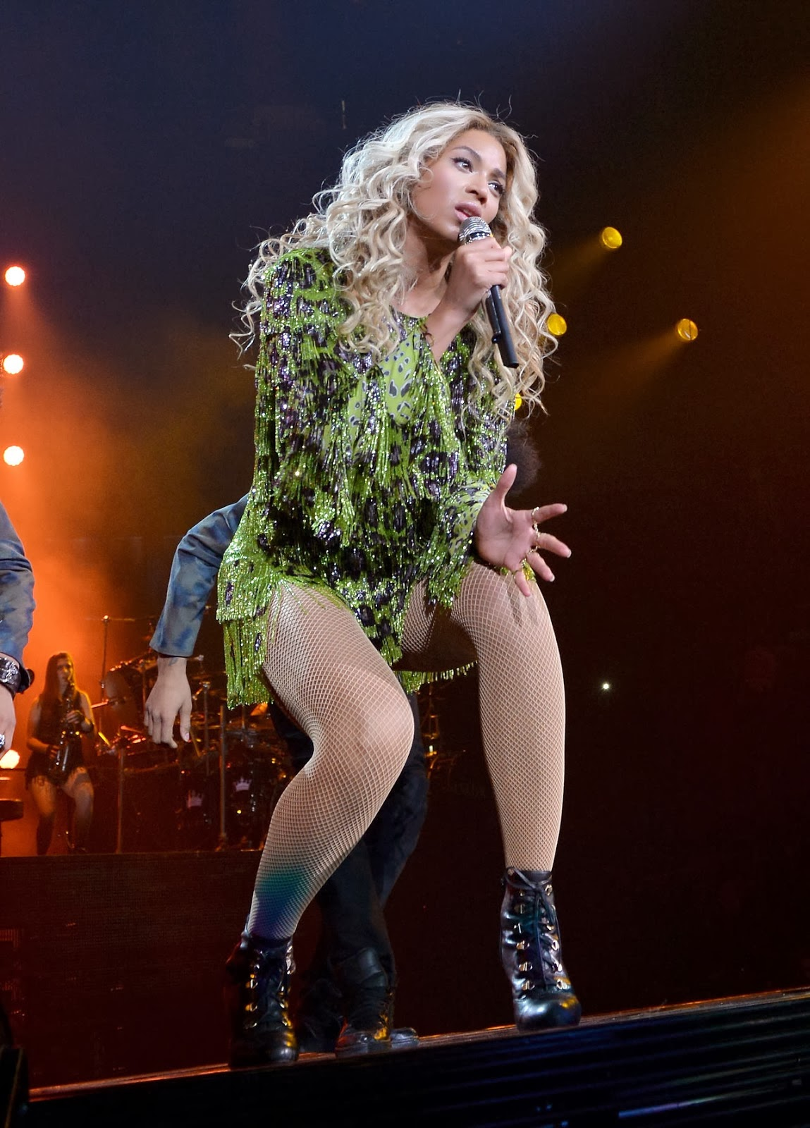 Beyonce Event Photoshoot from The Mrs Carter Show World Tour 2014