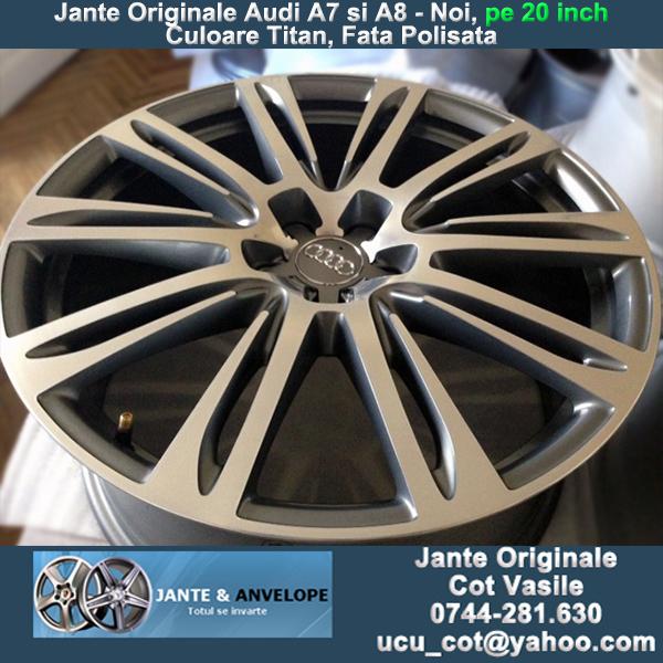 Jante Originale Porsche, Audi, BMW, Mercedes, Volkswagen