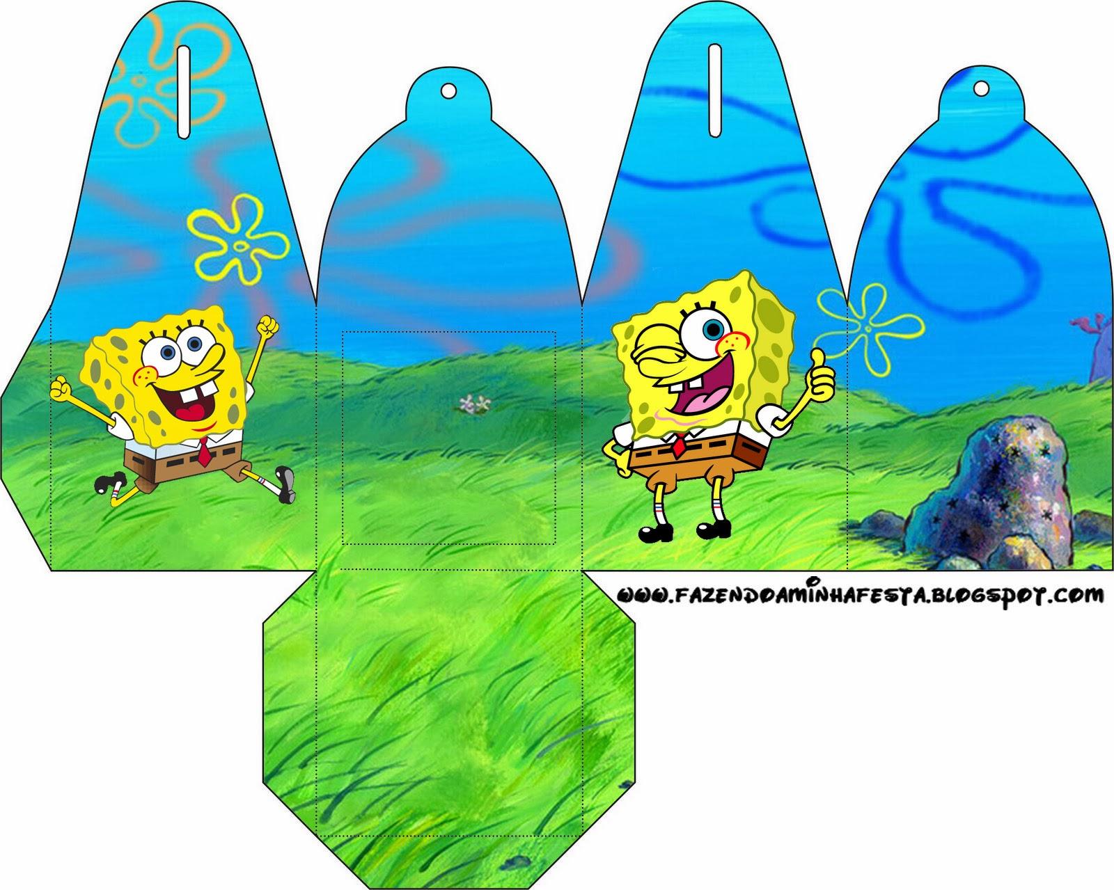 spongebob squarepants free printable boxes is it for parties
