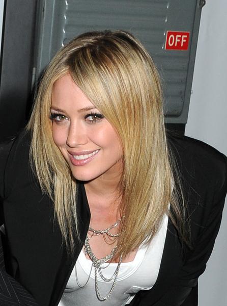 Стрижка слайсинг на средние волосы