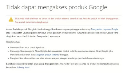 Mengatasi Channel Youtube Terkena Suspend (Banned)