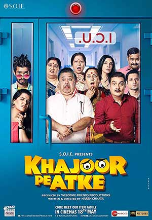 Khajoor Pe Atke 2018 Bollywood 300MB Movie WEBRip 480p