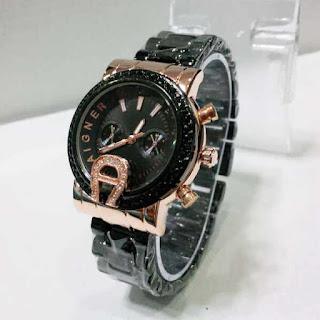 jam tangan wanita murah aigner a5020 permata mini