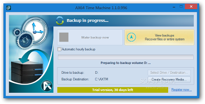Similar Time Machine Backup for Windows | AX64 Time Machine