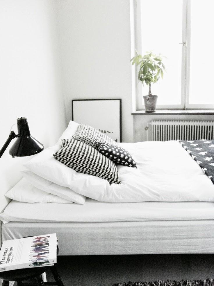 Hummelshoej: soveværelset