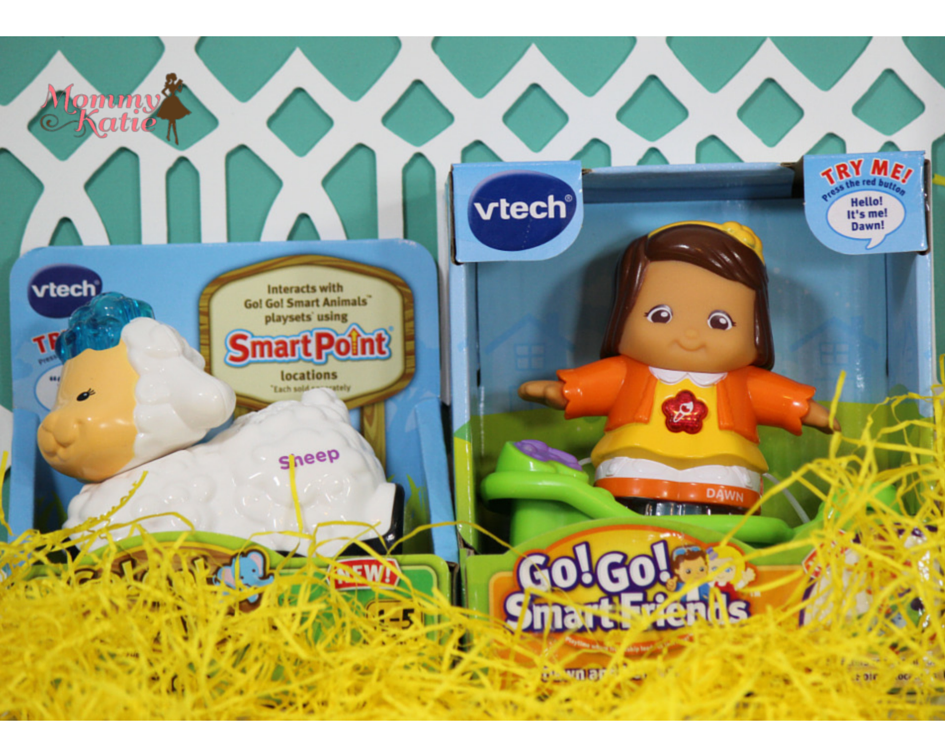 Fill the Easter Baskets with the Toys from VTech
