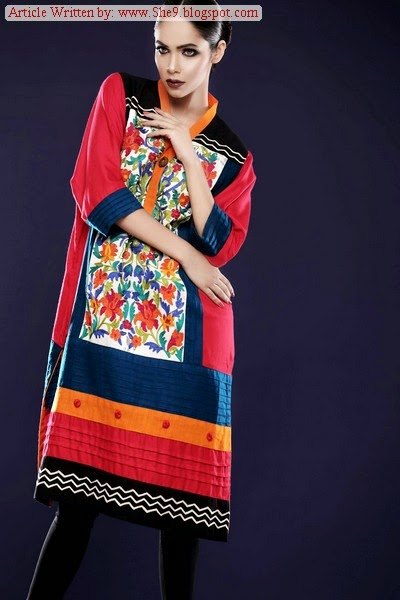 Funky Pakistani Dresses by Cotton Ginny